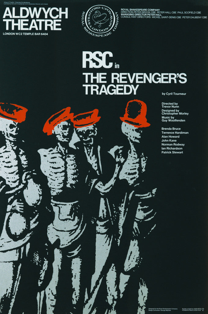 Detail of The Revenger's Tragedy, 1969 by Trevor Nunn