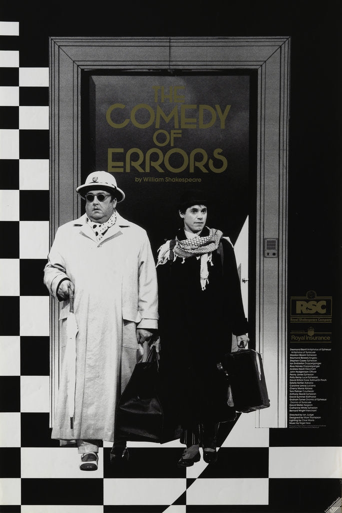 Detail of The Comedy of Errors, 1990 by Ian Judge