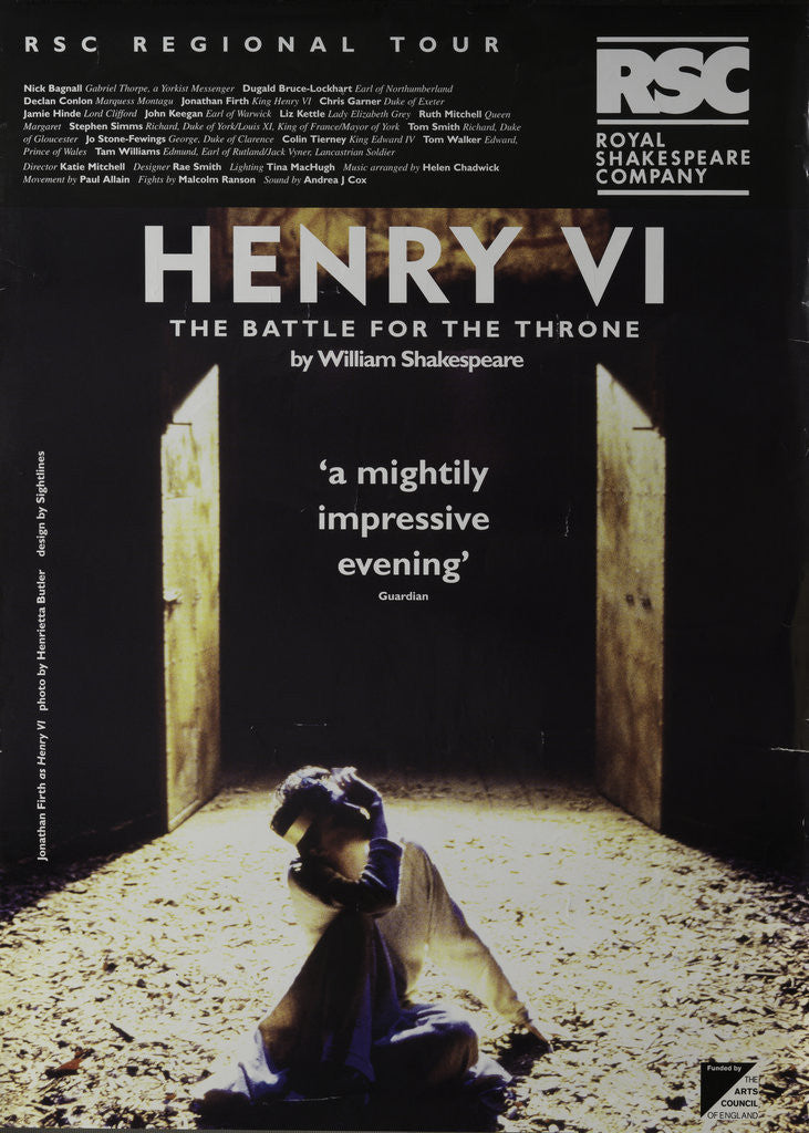 Detail of Henry VI - The Battle for the Throne, 1994/5 by Katie Mitchell