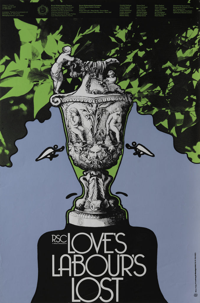 Detail of Love's Labours Lost, 1975 by David Jones