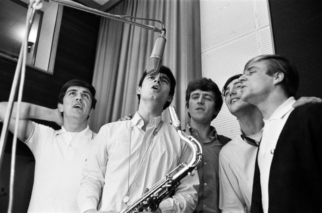 Detail of Dave Clark Five, 1964 by Ron Burton