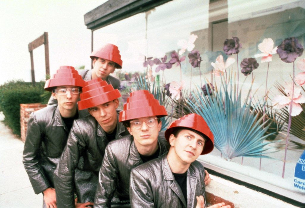 Detail of Devo, 1981 by Laurence Cottrell