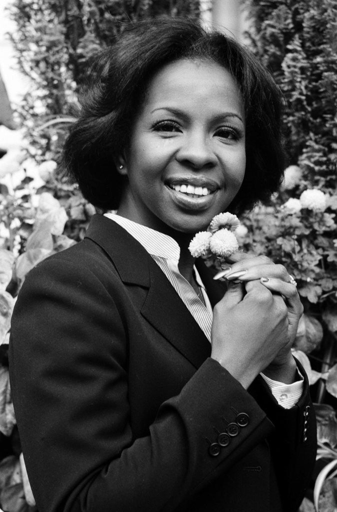 Detail of Gladys Knight by Allan Olley