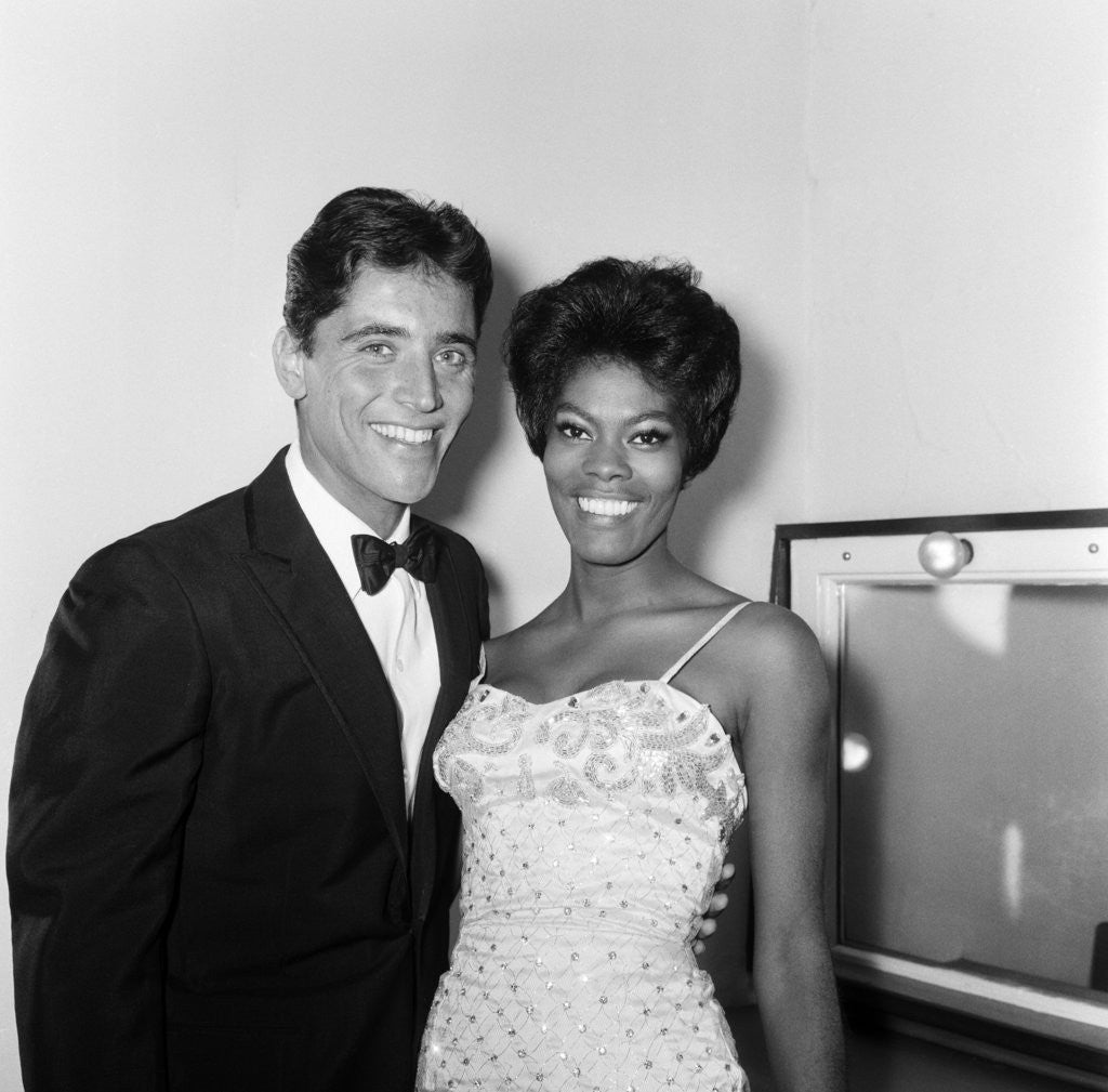 Detail of Dionne Warwick & Sacha Distel, 1964 by Staff