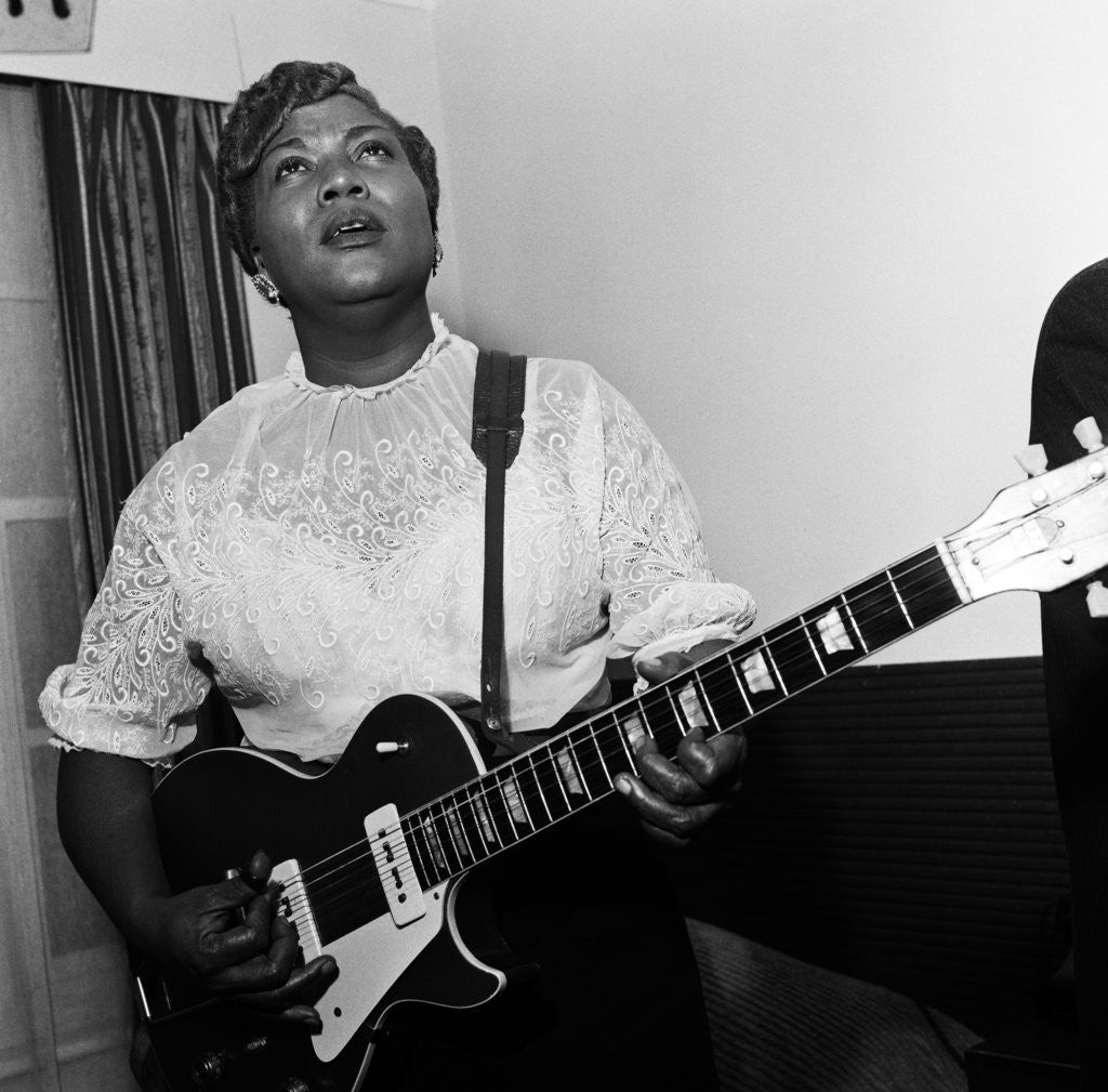 Detail of Sister Rosetta Tharpe, 1957 by Henry How