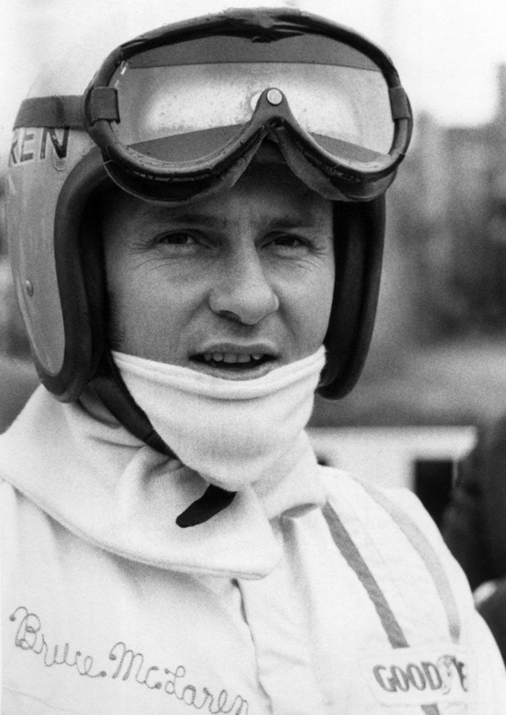 Detail of Bruce McLaren 1968 by Anonymous