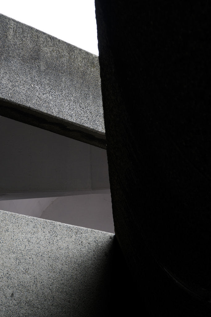 Detail of Brutalist Barbican Estate 01 by Joas Souza