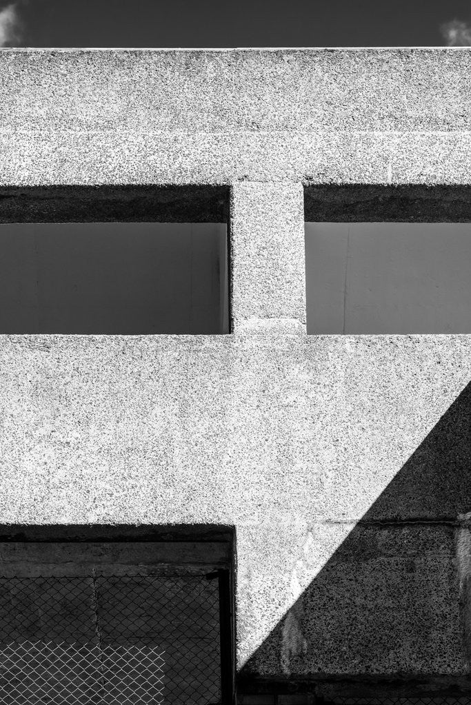 Detail of Brutalist Barbican Estate 04 by Joas Souza