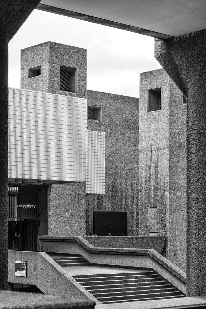 Detail of Brutalist Barbican Estate 07 by Joas Souza