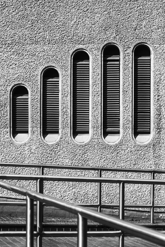Detail of Brutalist Barbican Estate 11 by Joas Souza