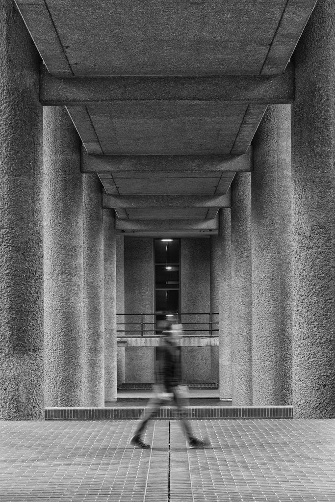 Detail of Brutalist Barbican Estate 20 by Joas Souza