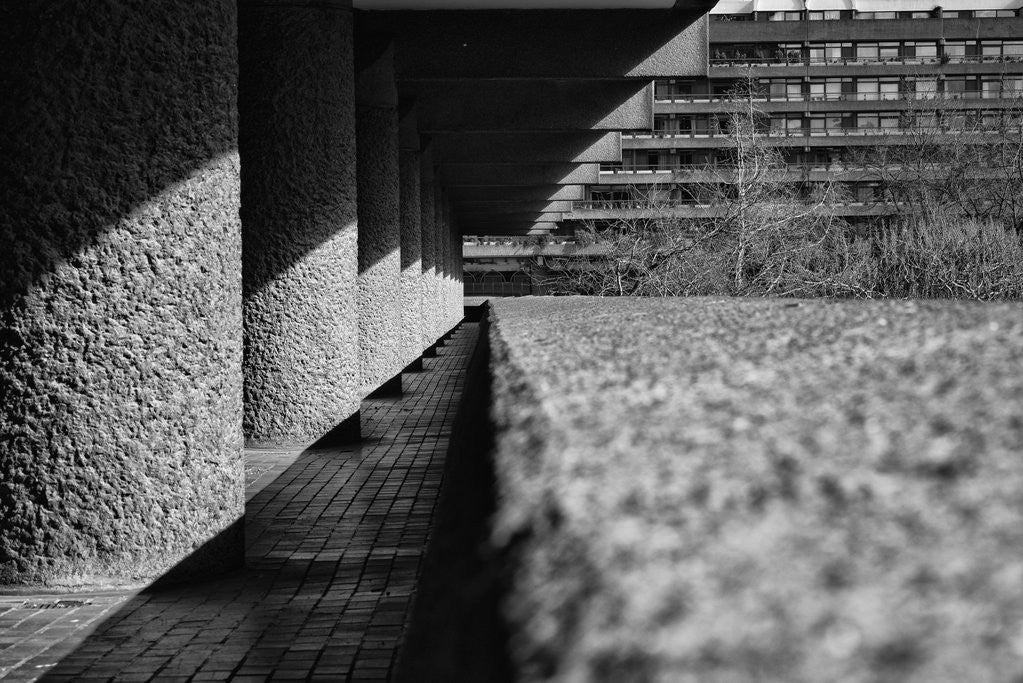 Detail of Brutalist Barbican Estate 22 by Joas Souza
