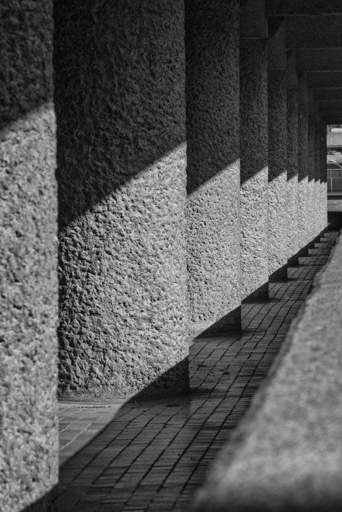 Detail of Brutalist Barbican Estate 23 by Joas Souza