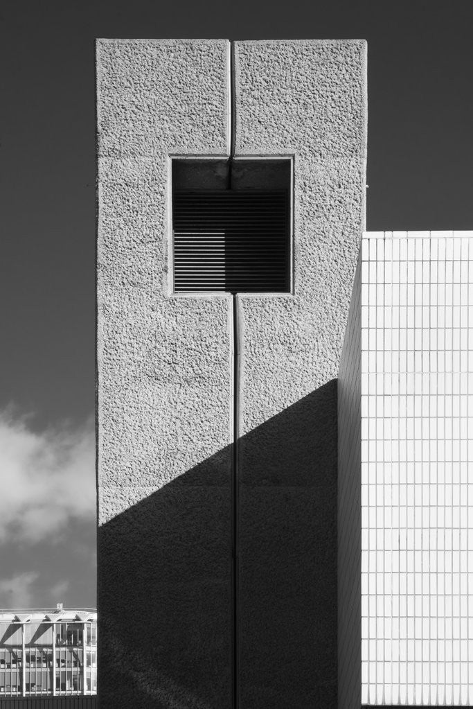 Detail of Brutalist Barbican Estate 25 by Joas Souza