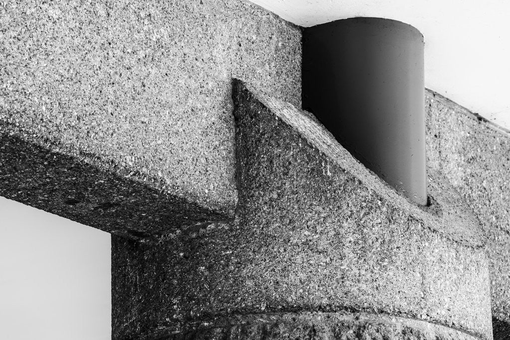 Detail of Brutalist Barbican Estate 35 by Joas Souza