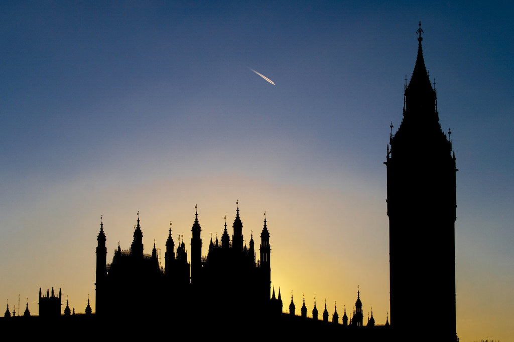 Detail of Parliament Sunset by Joas Souza