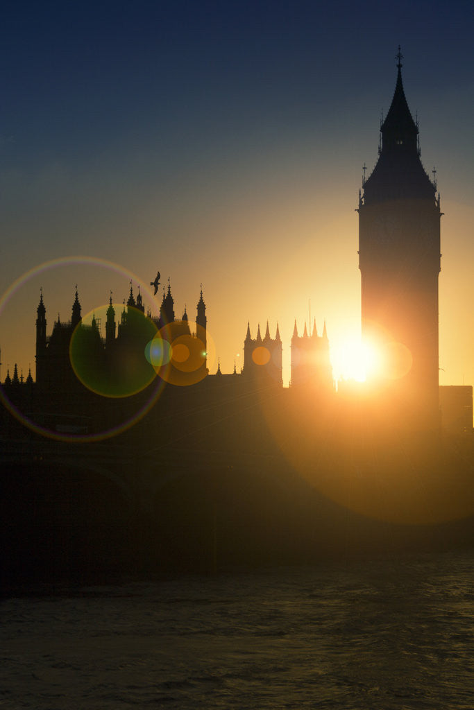 Detail of Sunset in Westminster by Joas Souza