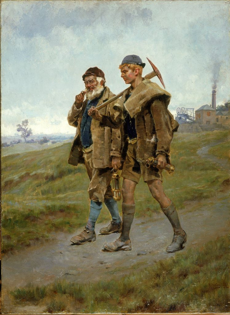 Detail of Going Home by Ralph Hedley