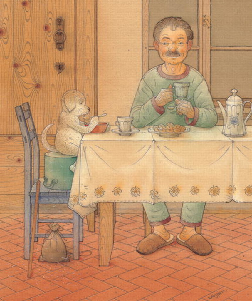Detail of Mysterious Guest, 2005 by Kestutis Kasparavicius