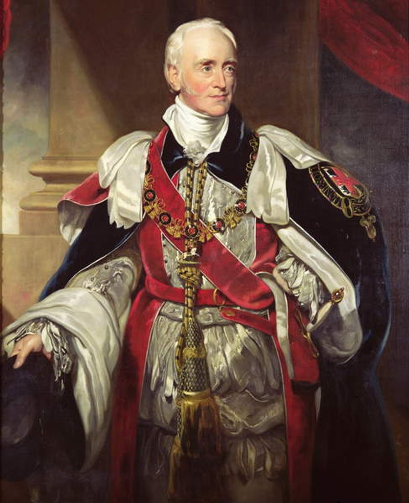 Detail of Philip Yorke, Third Earl of Hardwicke by Thomas Lawrence