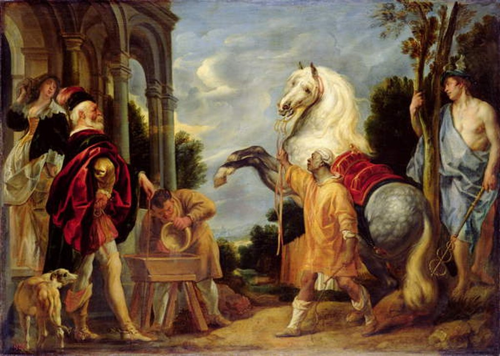 The Master's Eye Makes the Horse Fat by Jacob Jordaens