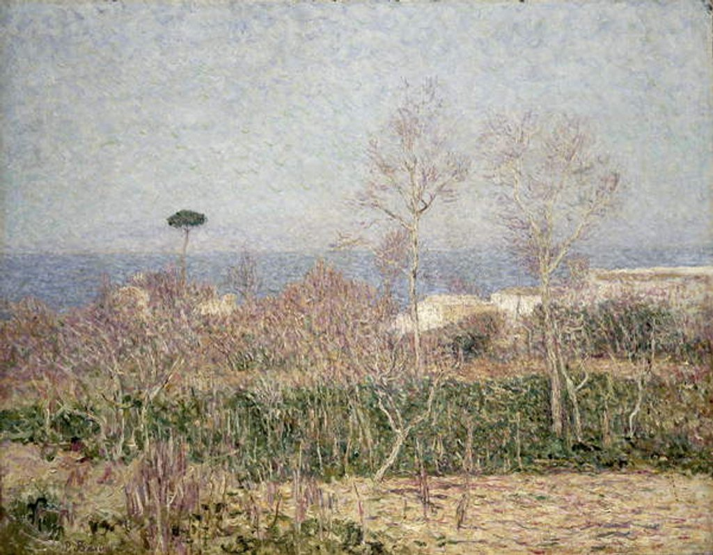 A Coastal Landscape on Capri, 1899 by Paul Baum