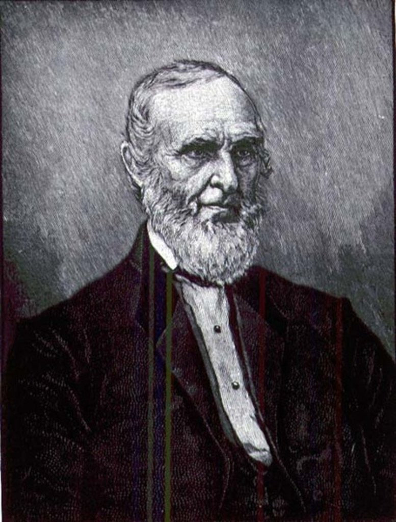 Detail of John Greenleaf Whittier American Author and Abolitionist by American School