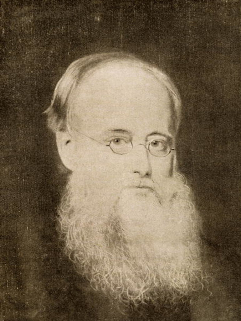 Detail of Wilkie Collins by Unknown