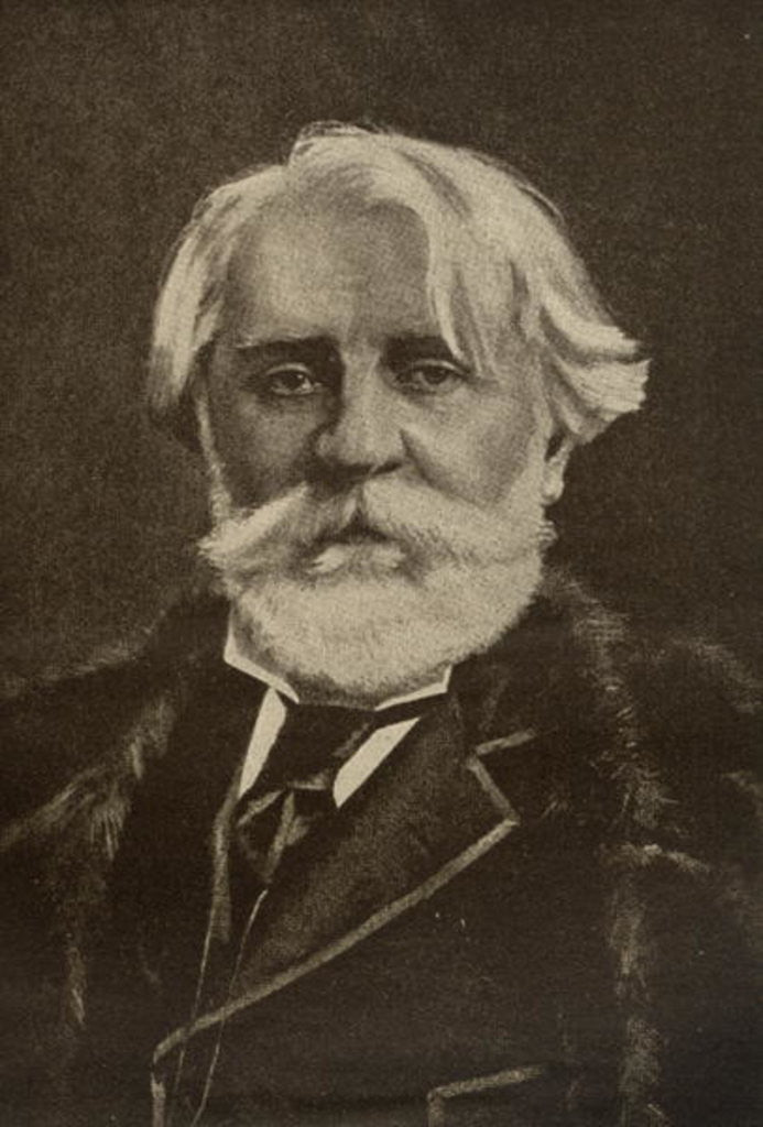 Detail of Ivan Sergeyevich Turgenev by English School