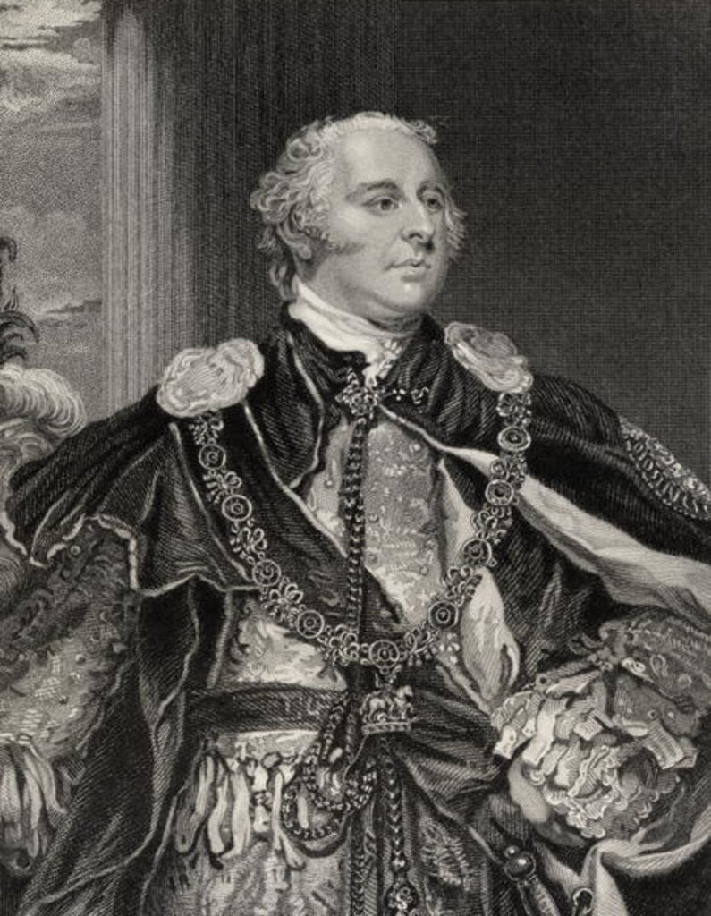 Detail of John Jeffreys Pratt 2nd Earl and 1st Marquess Camden by English School