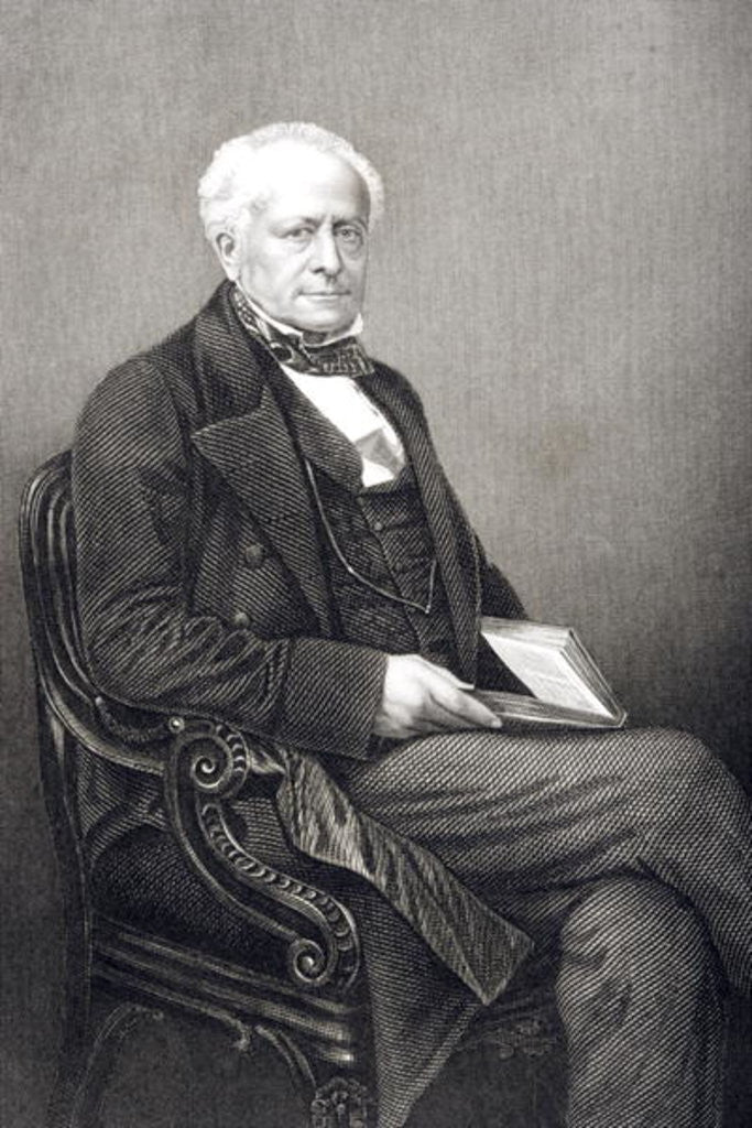 Sir Fitzroy Kelly engraved by D.J. Pound from a photograph