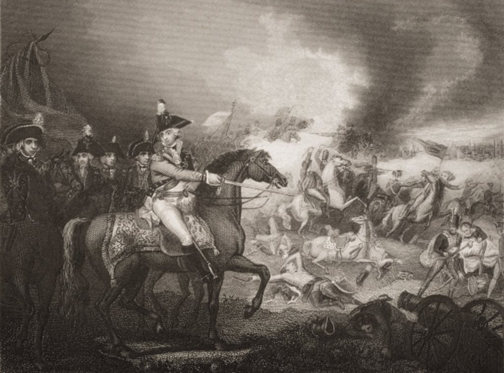 The Attack upon the French Camp on the Hills of Famars near Valenciennes