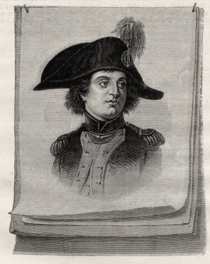Detail of Antoine Joseph Santerre from 'Histoire de la Revolution Francaise' by Louis Blanc by French School