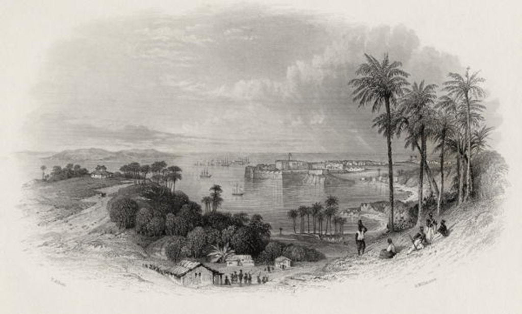 Detail of Bombay India by Thomas Allom