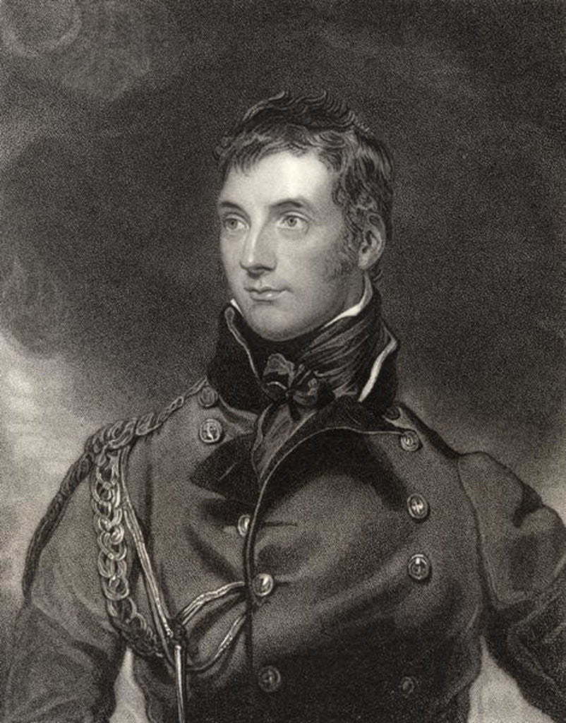 Detail of Sir George Murray by Sir Thomas Lawrence