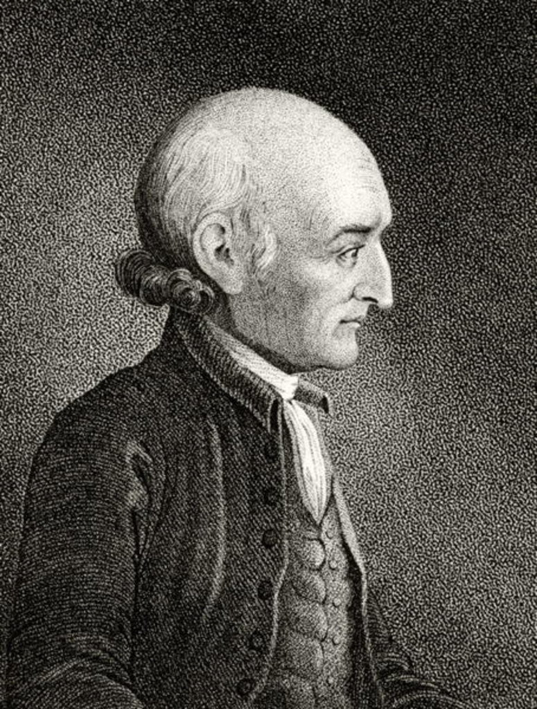 Detail of George Wythe by American School