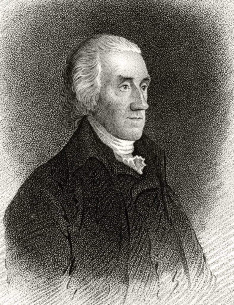 Detail of Robert Treat Paine by Edward Savage