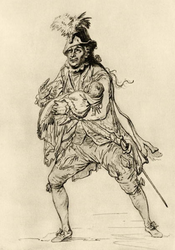 David Garrick in the role of Don Juan by Philip James de Loutherbourg