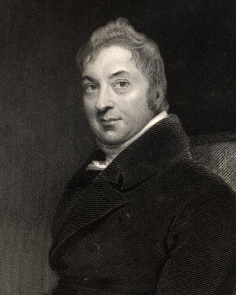 Detail of Edward Jenner by Sir Thomas Lawrence