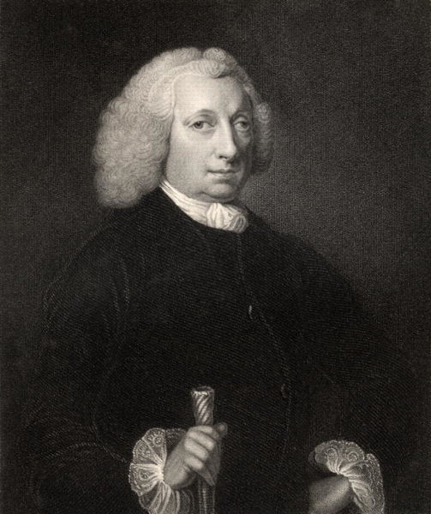 Detail of John Huxham by Thomas Rennell