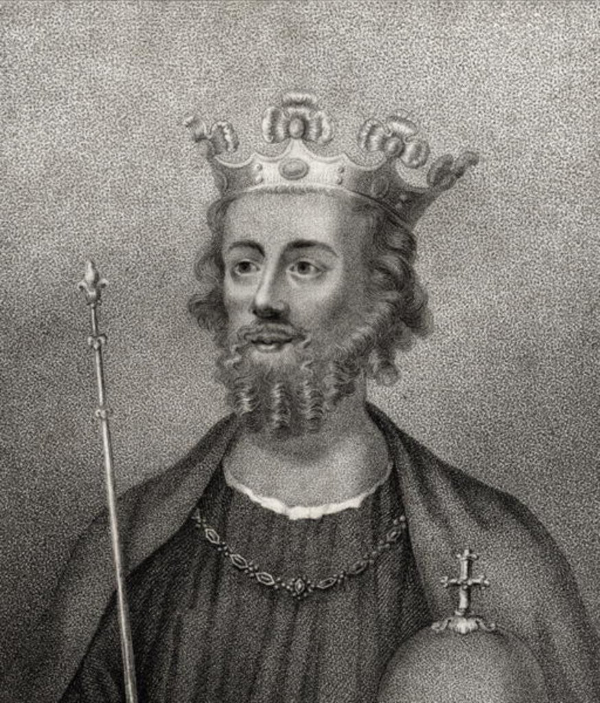Detail of Edward II by English School