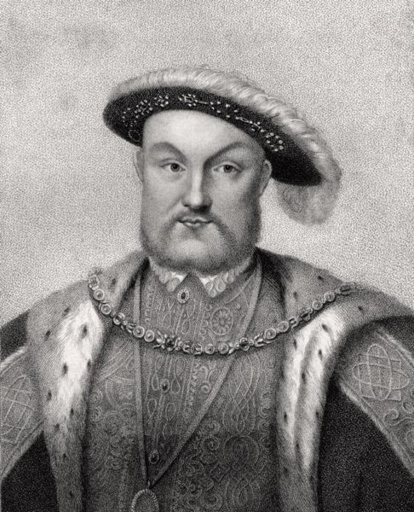 Detail of Henry VIII by English School