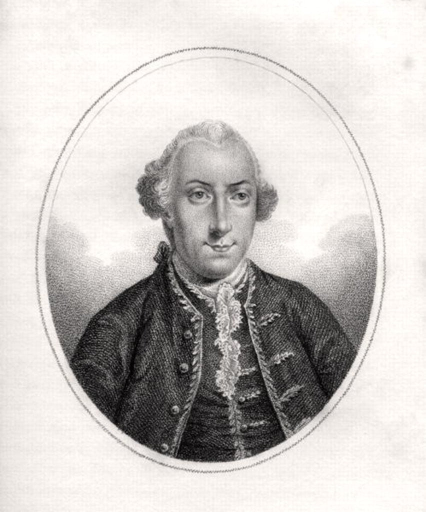 Frederick Calvert by English School