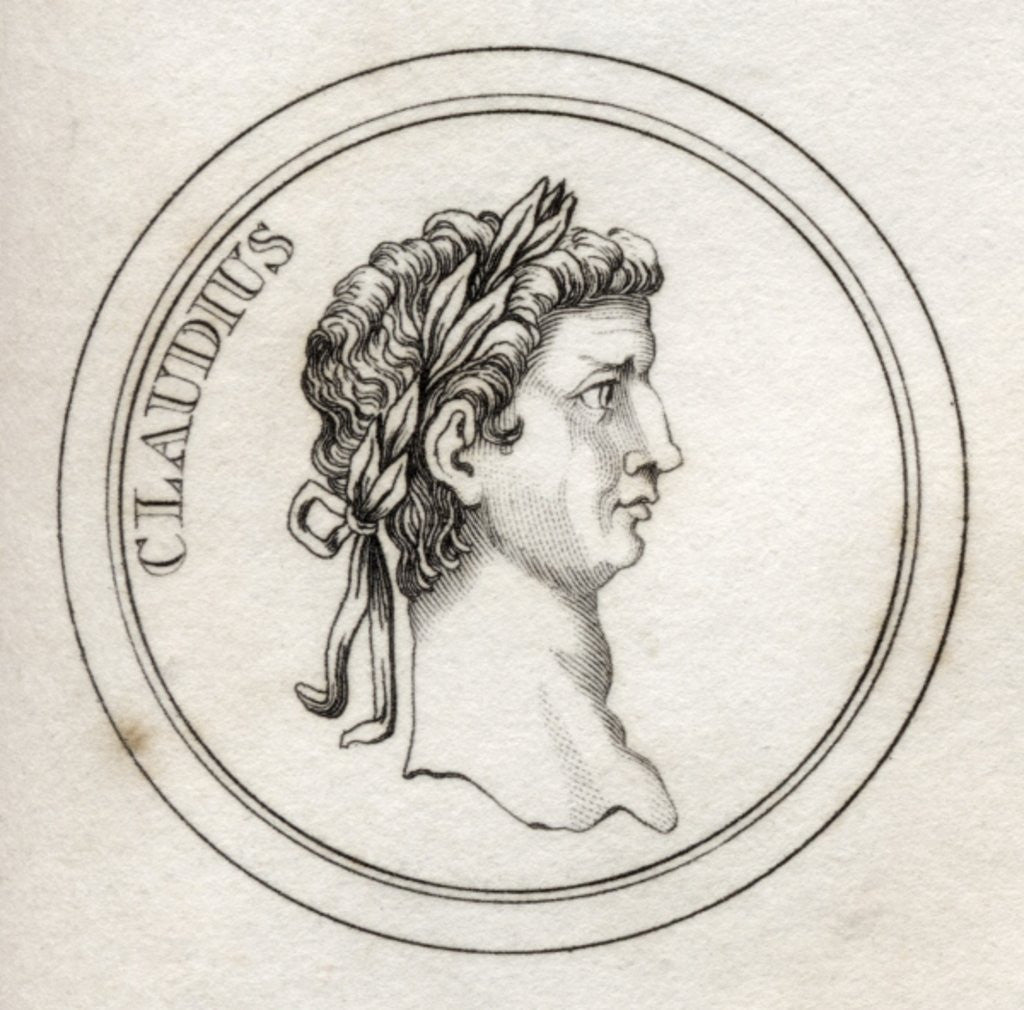 Detail of Emperor Claudius by English School
