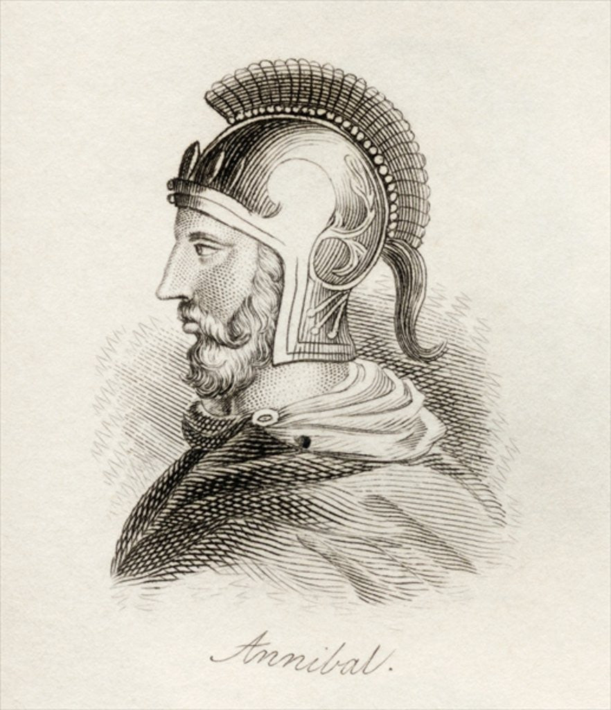 Detail of Hannibal the Great by English School