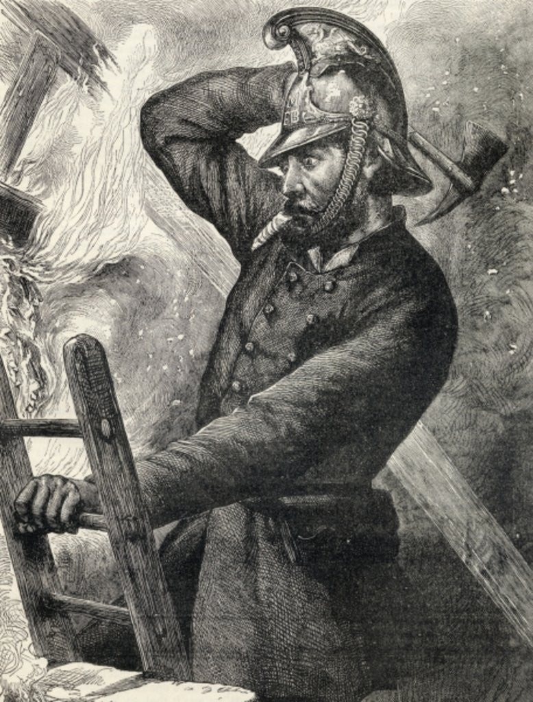 Detail of Fireman by English School