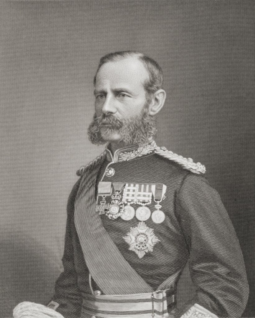 Detail of Field Marshal Frederick Sleigh Roberts, 1st Earl Roberts by English School