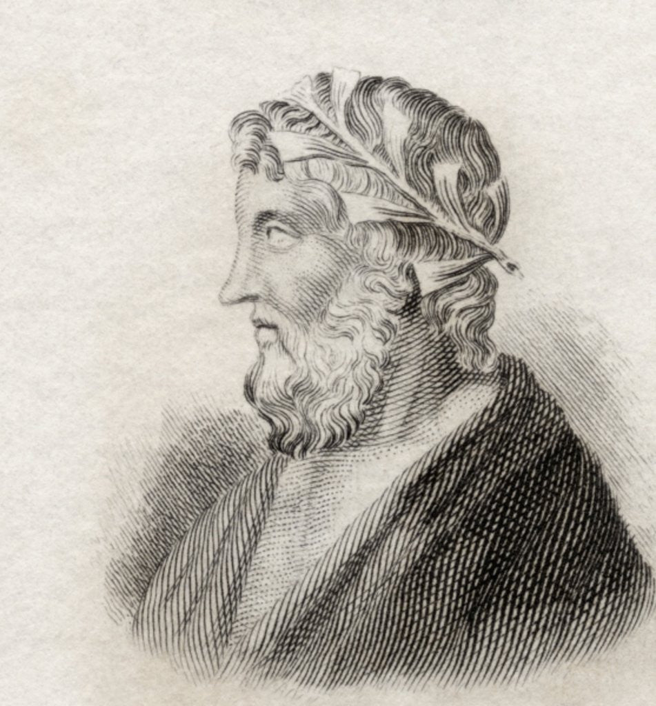 Detail of Theocritus by English School