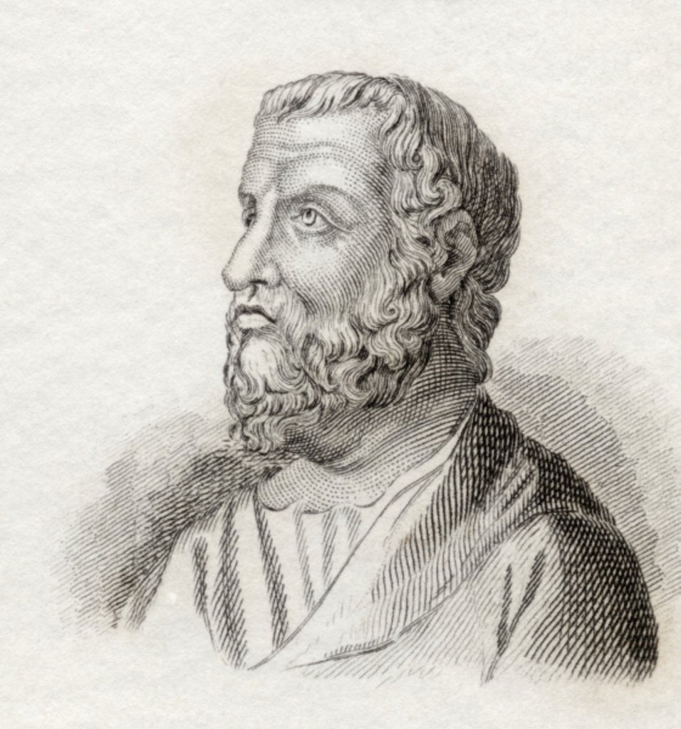 Detail of Isocrates by English School