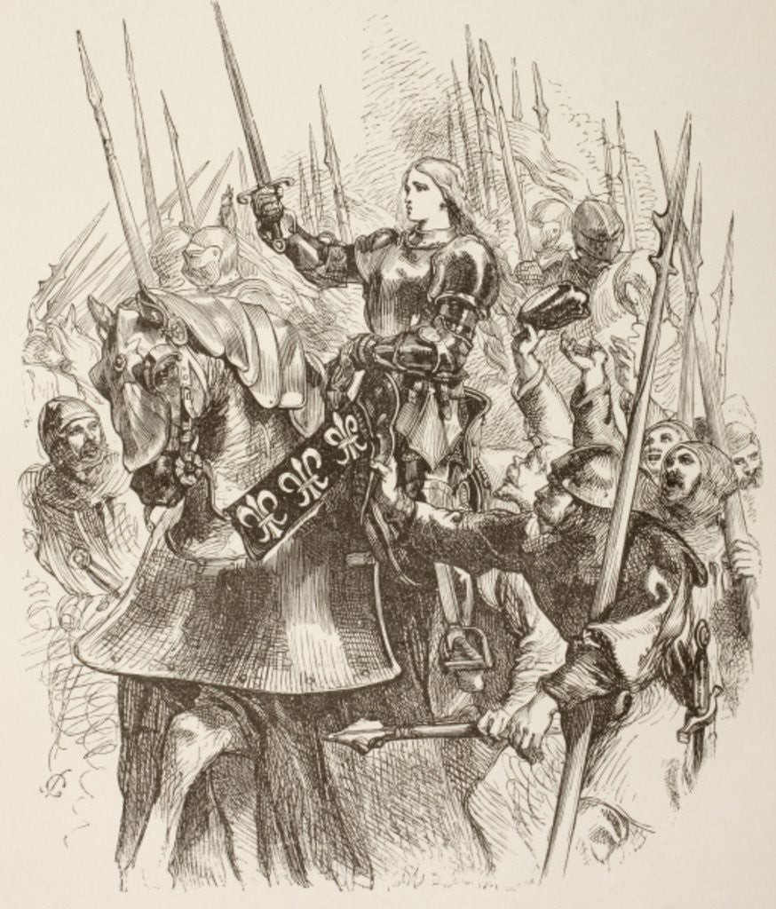 Joan of Arc by Sir John Gilbert